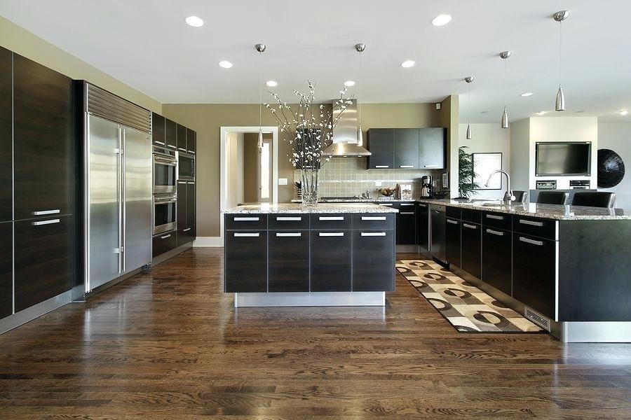 Schutzen Sie Holzboden In Der Kuche Kuchen Holzboden Hartholz