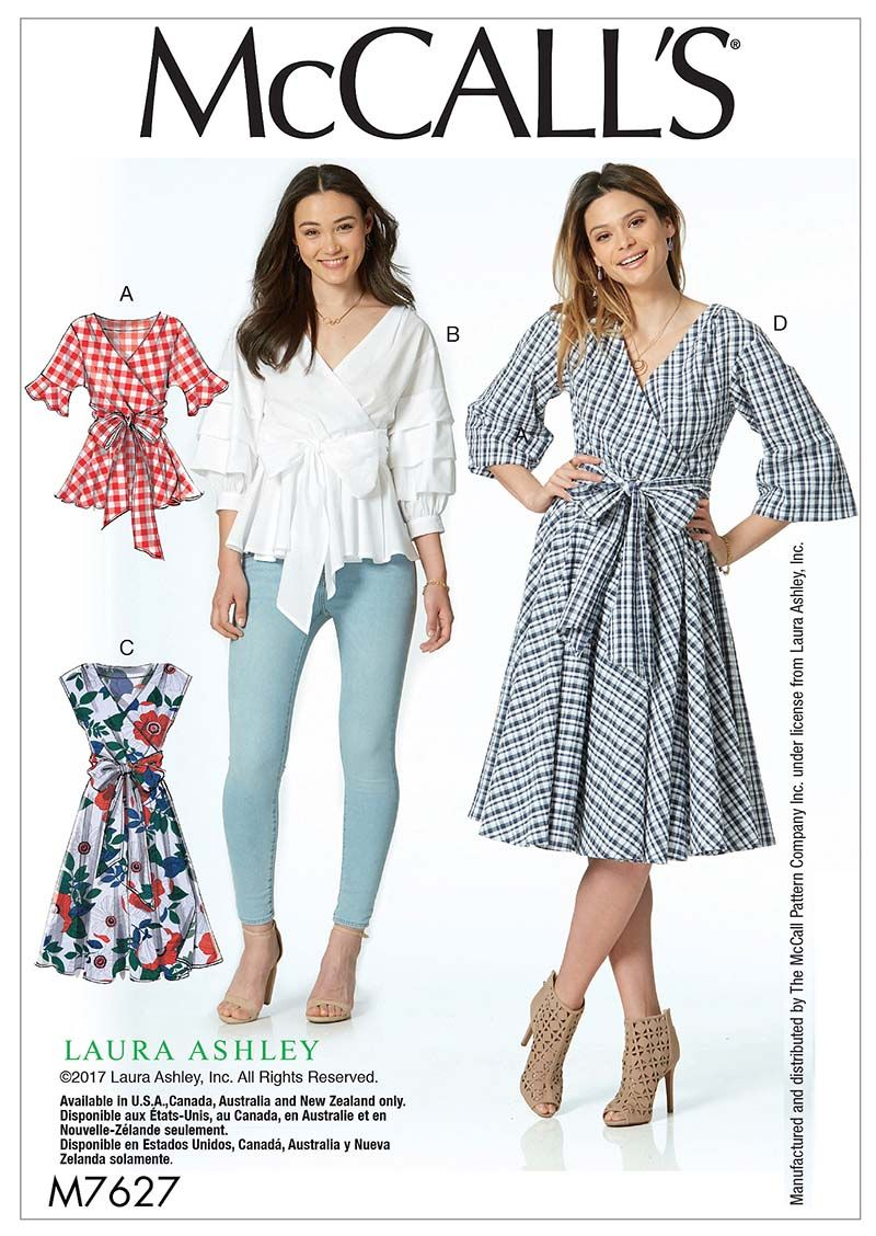 Mccall S Mccall S 7627 Sewing Clothes Mccalls Sewing Patterns