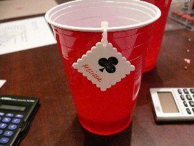 cable tie cup tag