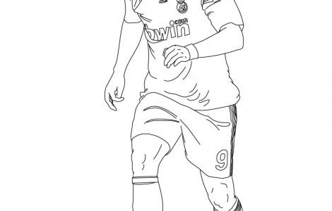 Ronaldo Coloring Pages Forward Page Hd Wallpaper High