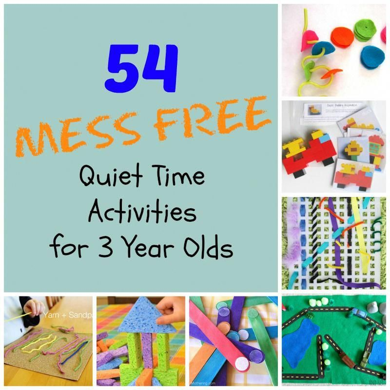 54 Mess Free Quiet Time Activities For Preschoolers