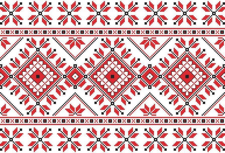 Фото украинской вышивки крестом