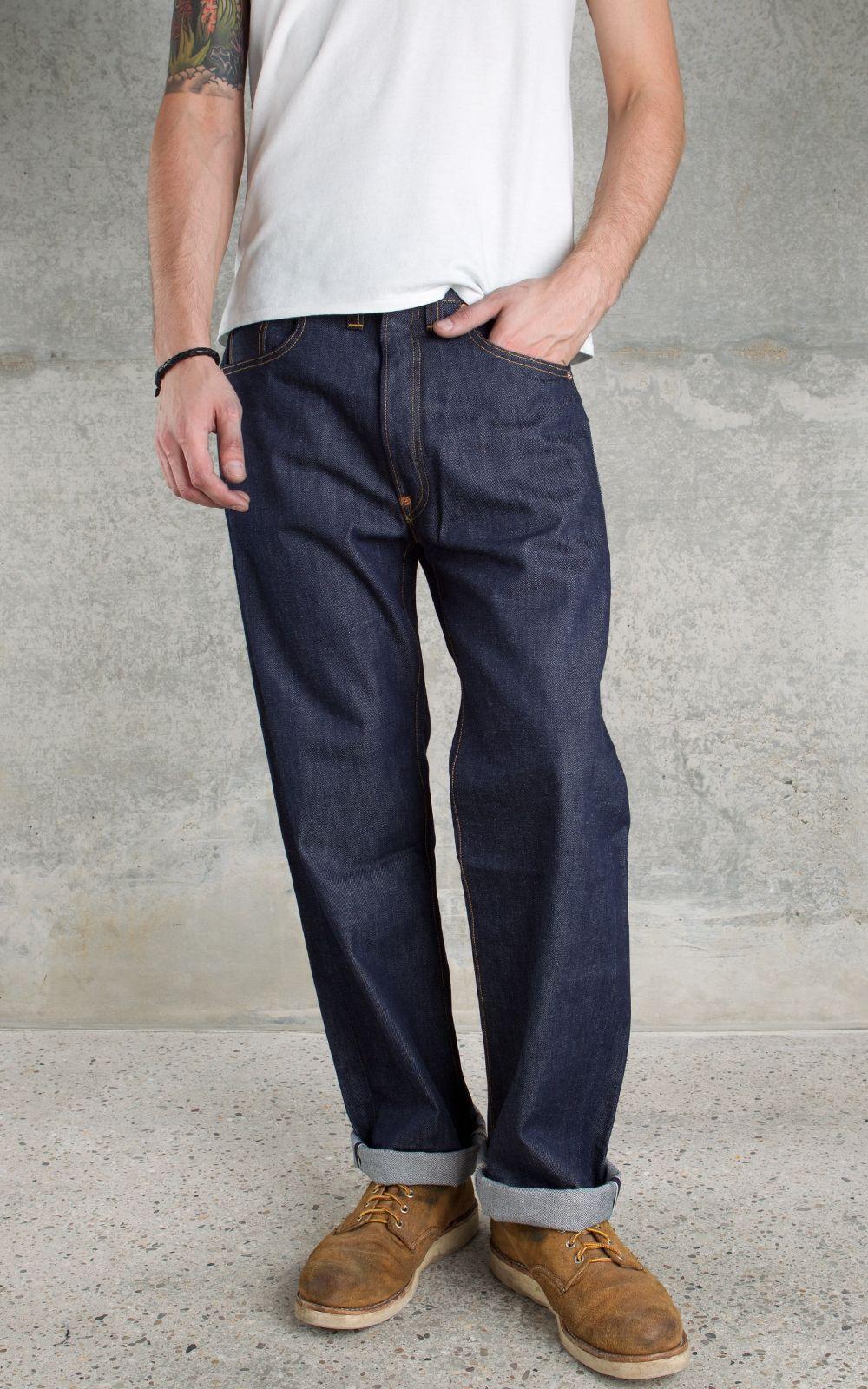 Chemise Jeans Levis à levi´s vintage clothing 1933 501 jeans rigid — shrink to fit, trivia