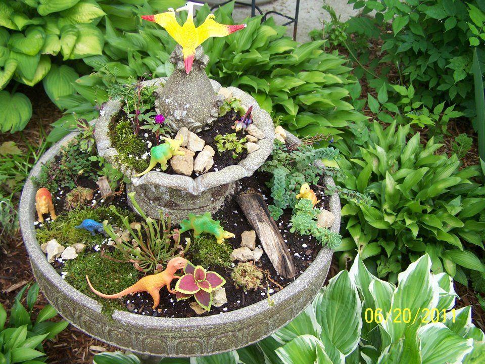 Dinosaur Garden for kids! kid activities Pinterest