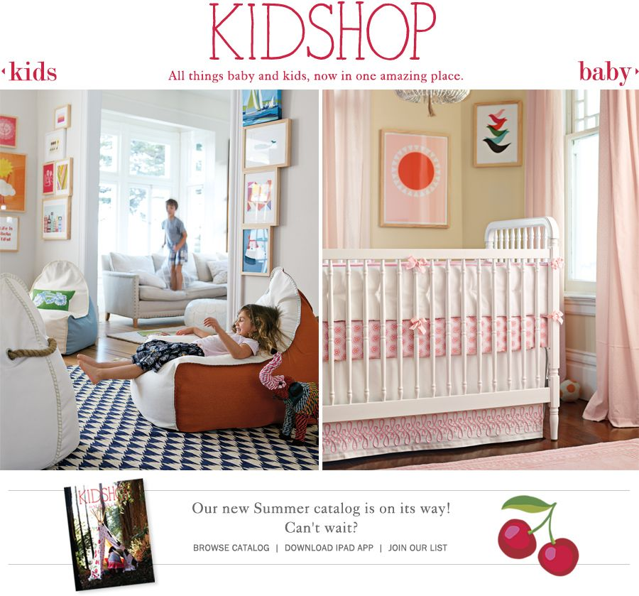 Serena & Lily Kidshop for kid rooms