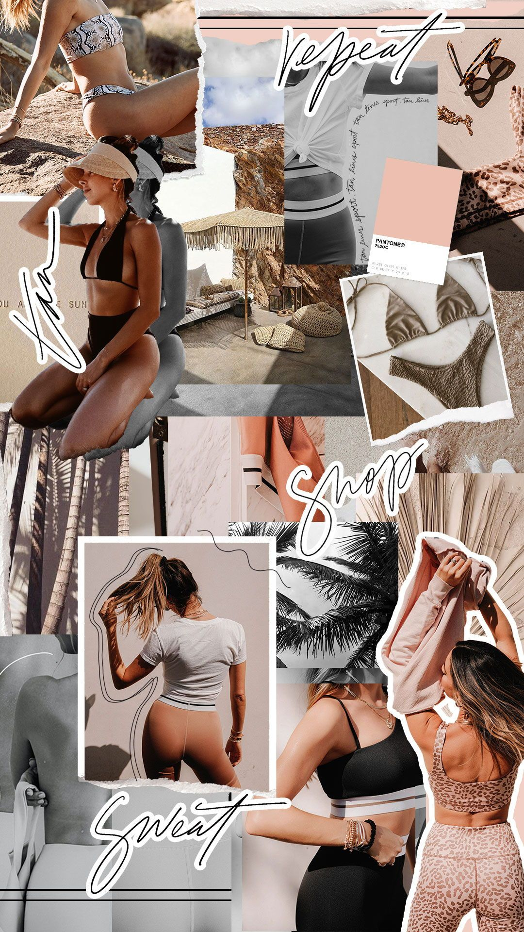 TAN + LINES by Sivan Ayla #sweat #activewear