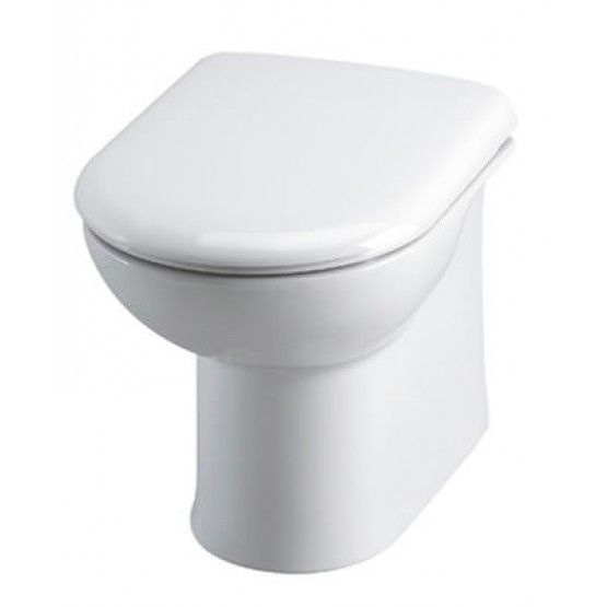 Essential Gem Back To Wall Pan White £66 2nd choice