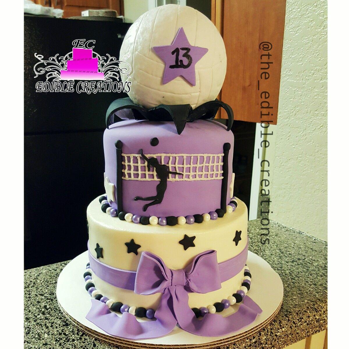 Volleyball Volleyball Birthday Cakes Volleyball Cakes Volleyball Birthday Party