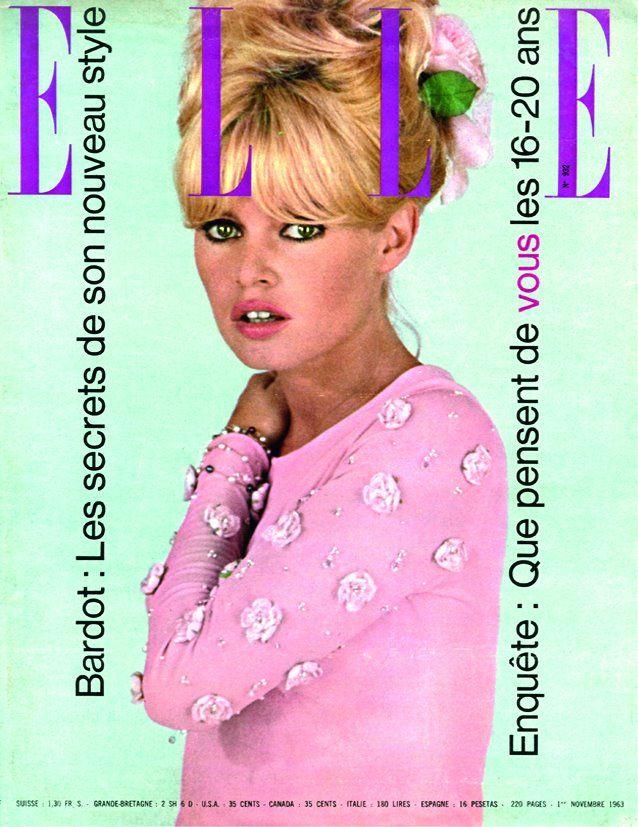 Elle - Brigitte bardot | Fashion Magazine | Pinterest | Tapas y Revistas