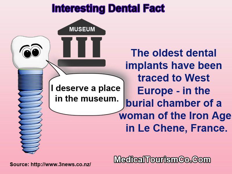 Oldest Dental Implant