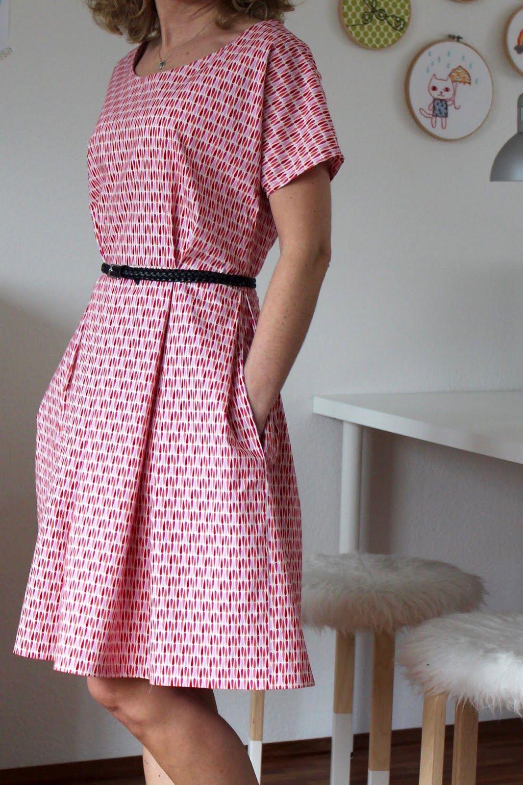 Herzenssachen: Zeena Dress - purchase pattern here… | Kleider ...