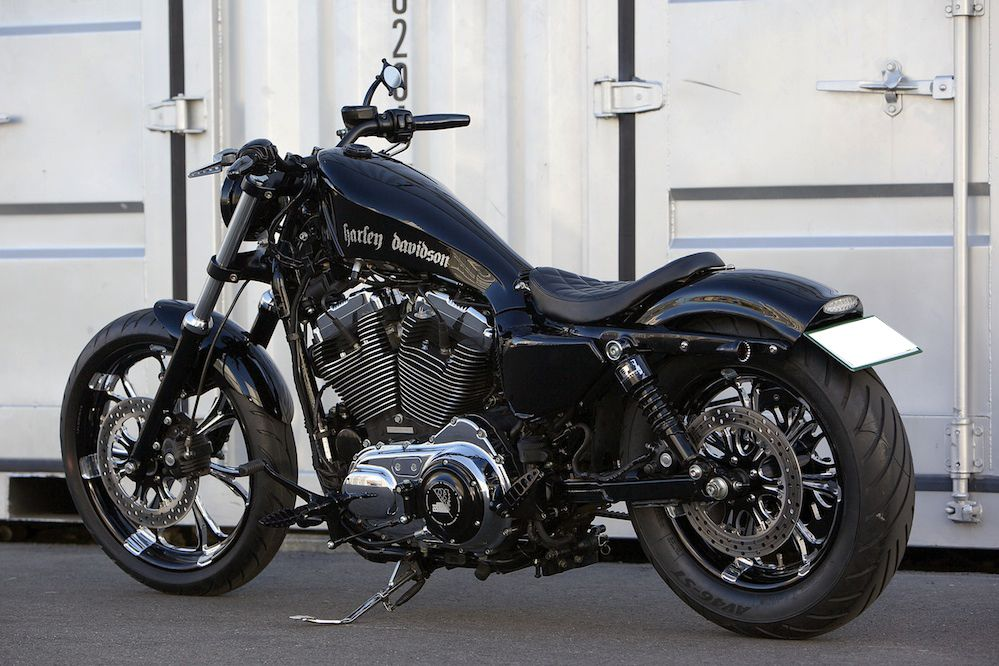 Rough Crafts Bad Land Harley48 Harleyfortyeight Harley
