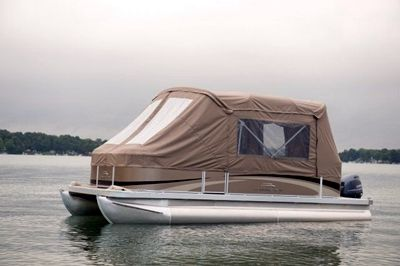 A Pontoon Boat Canopy can Protect You and Your Boat in ...