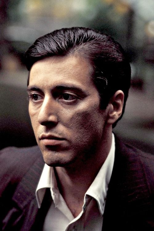 Al Pacino Photographed For The Godfather 1972 Young Al Pacino