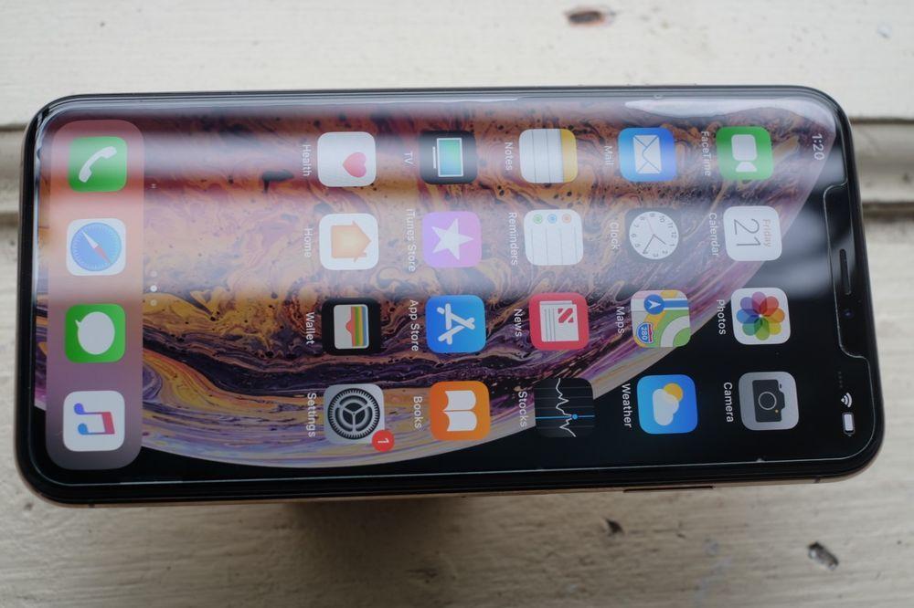Apple iphone xs max 256gb gold sprint a1921 cdma