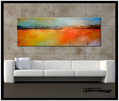 Limited Edition, Hand Embellsihed, Abstract Painting $250.00
