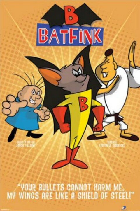 Batfink Wings Of Steel And If Memory Serves A Rather Hefty