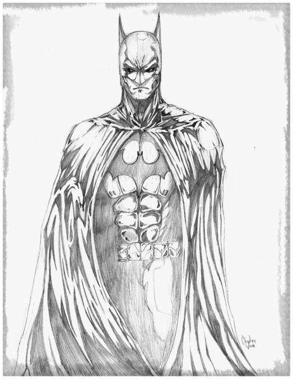 Resultado de imagen para dibujos a lapiz batman | Artworks ...