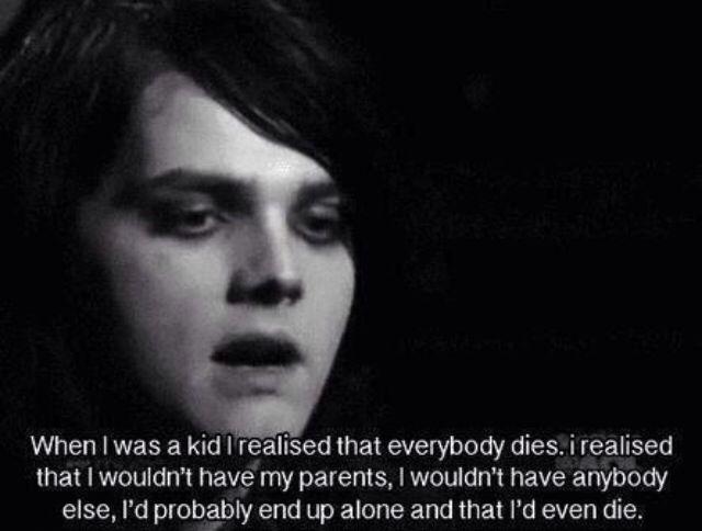 My Chemical Romance Lyrics & Quotes