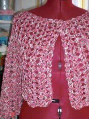 chaleco a crochet redondo | Aprender manualidades es facilisimo.com
