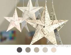 tuto origami etoile facile