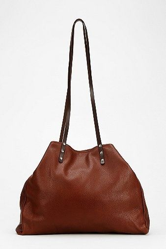 dean. B31 Skinny Strap Leather Tote Bag - Urban Outfitters - URBAN OUTFITTERS on InStores