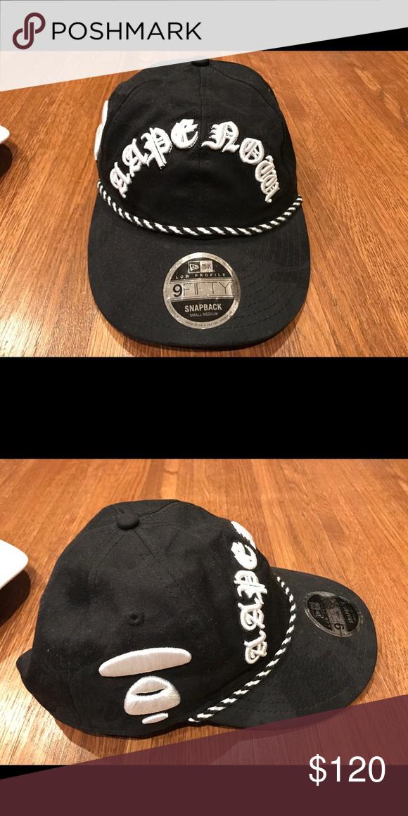 71ebd3f51a736 Authentic   new The bathing ape Bape black hat Authentic brand new The  Bathing Ape Bape adjustable black hat Bape Accessories Hats