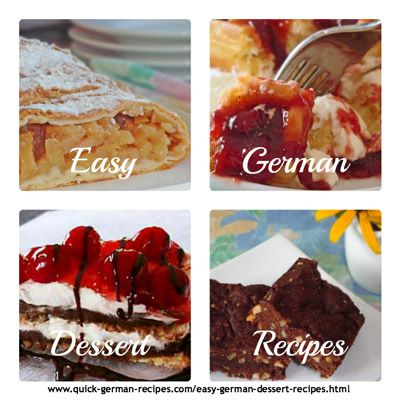 easy german desserts made just like oma pinterest check out these wunderbar easy german desserts httpquick german recipeseasy german dessert recipesml forumfinder Gallery