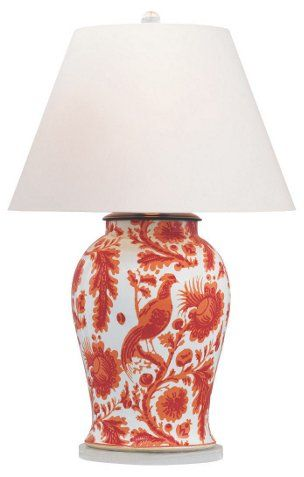Arcadia Table Lamp Coral Living