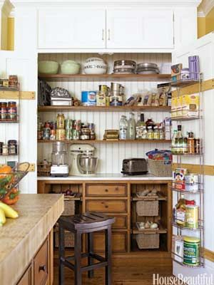 Pantry With Honey Colored Pine Drawers And Shelving   Awesome! No Pantry To  Do