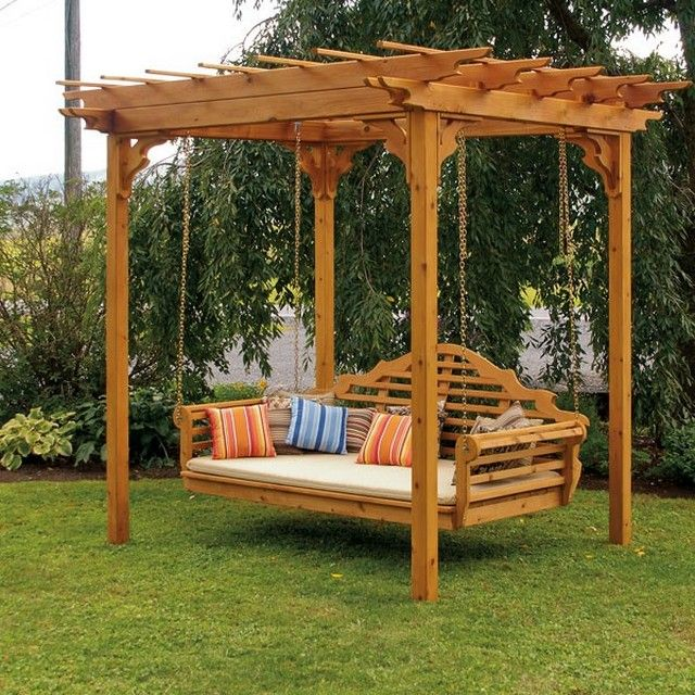 16 Excellent Porch Swing Stands Picture Ideas