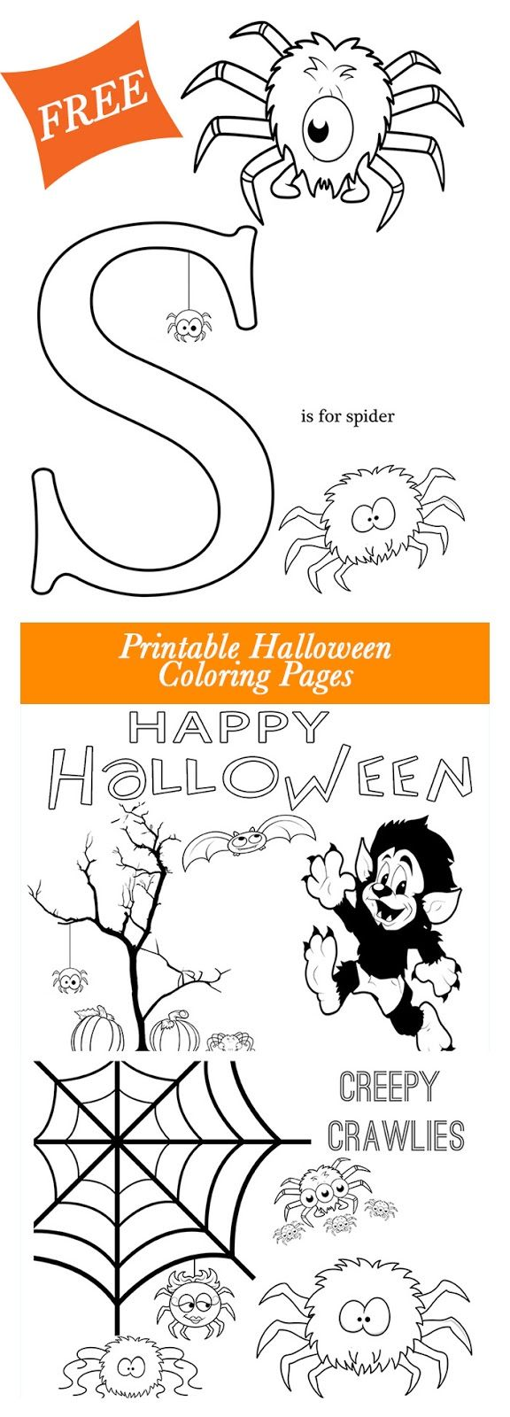 Get these free Halloween Printable coloring pages from Major Hoff ...