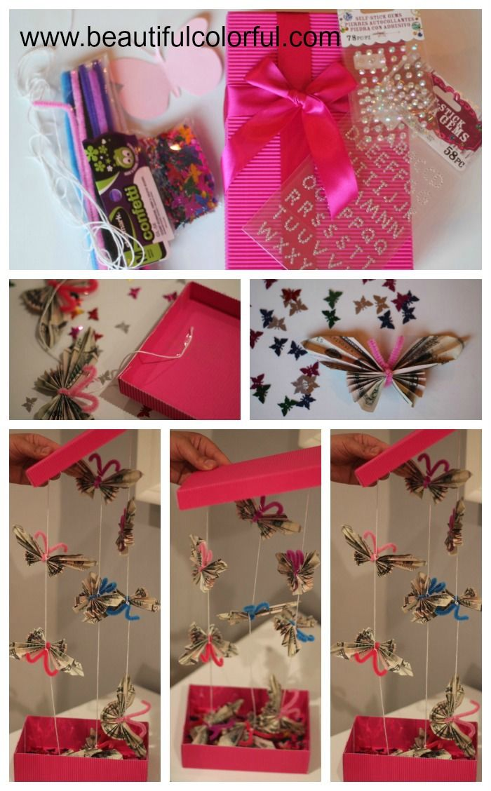 Something... Beautiful, Colorful - BLOG: Tutorial: Butterfly Money ...