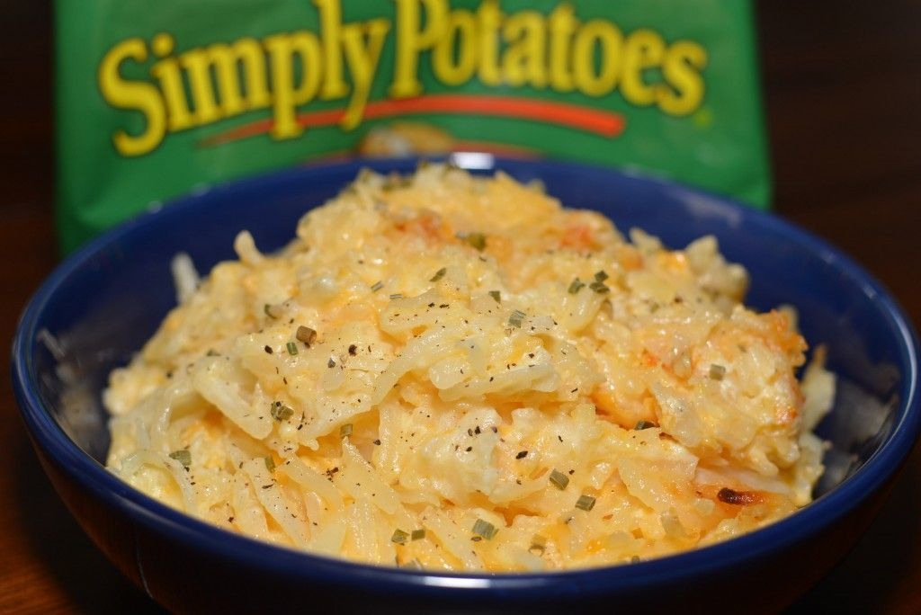 Slow Cooker Cheesy Hash Brown Casserole The Cookin Chicks Cheesy Hashbrown Casserole Simply Potatoes Recipes Cheesy Hashbrowns