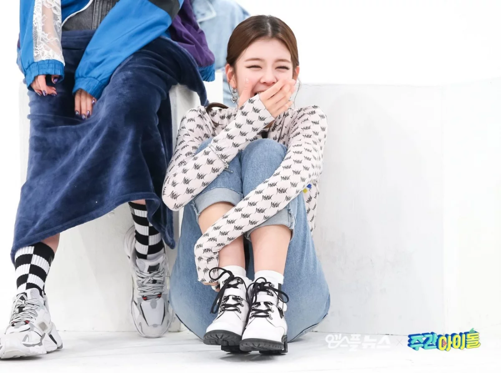 Itzy S Lia At Weekly Idol Ep 450 Mbc Naver Update Itzy Kpop Fashion Fashion