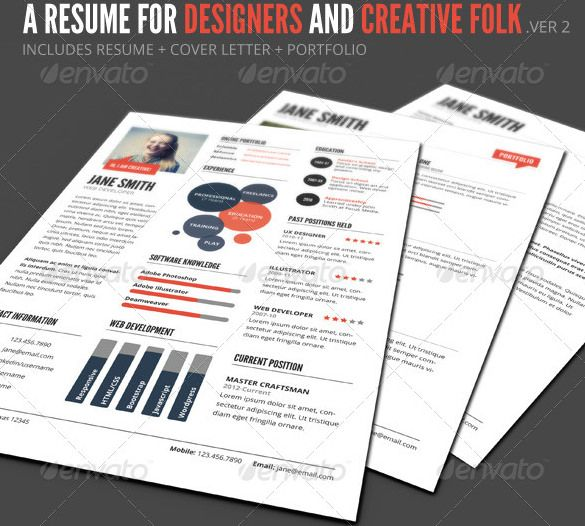 InfoGraphic Style Resume Template PSD Format , Infographic Resume - successful resume