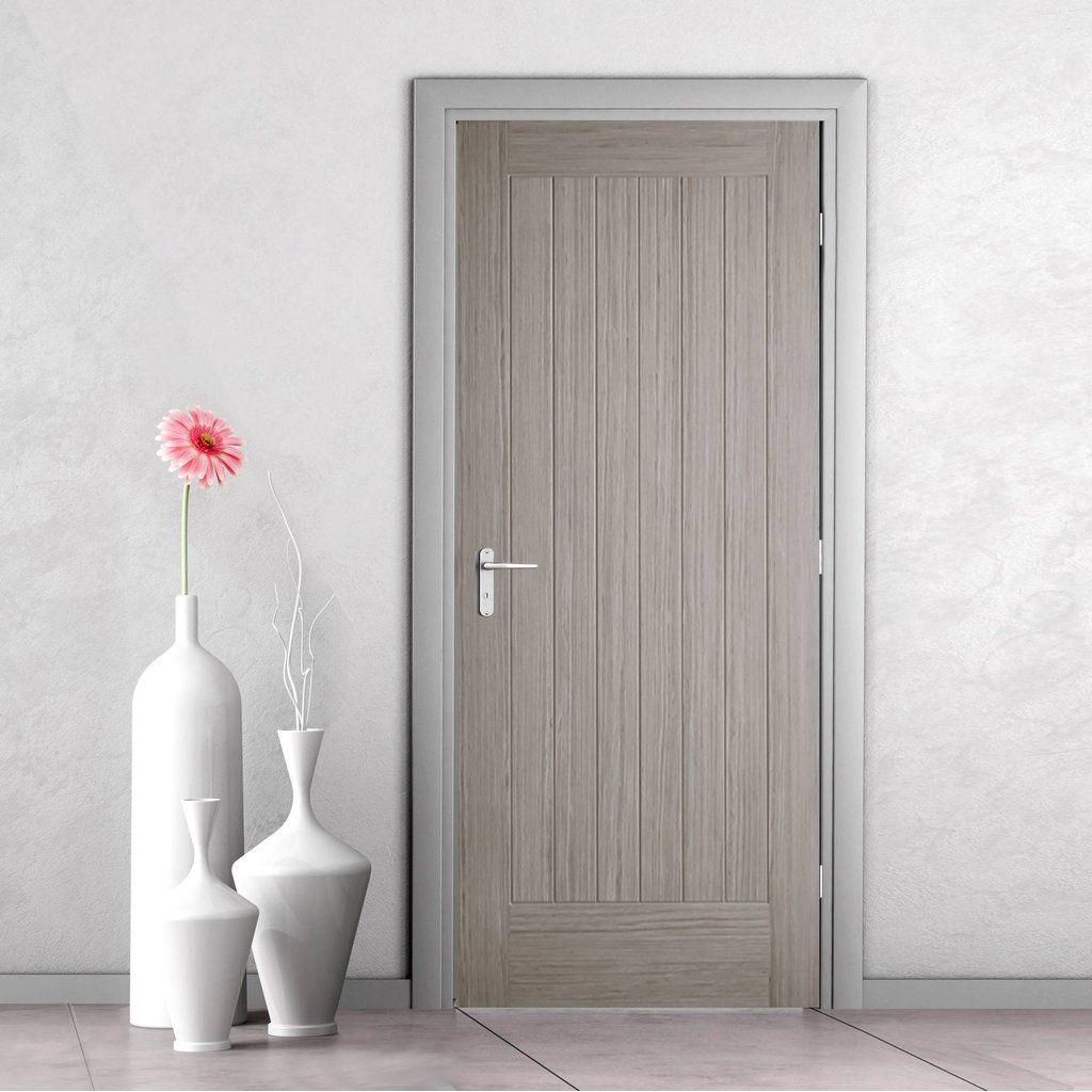 Somerset Light Grey Internal Door Prefinished Wykoczeniwka