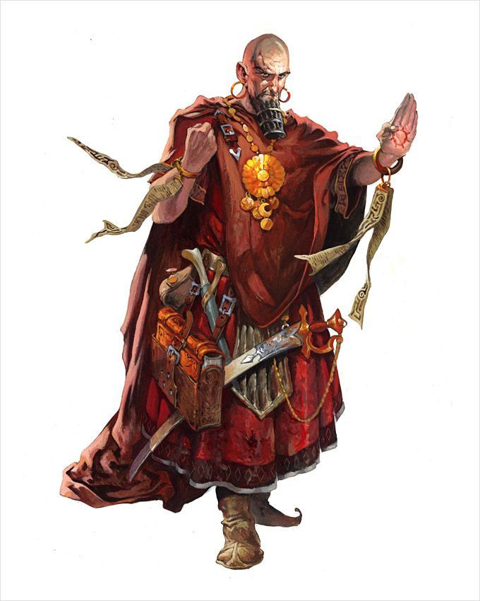 D&D 5e, Lost Mine of Phandelver, Human, Wizard, Hamun Kost, Red