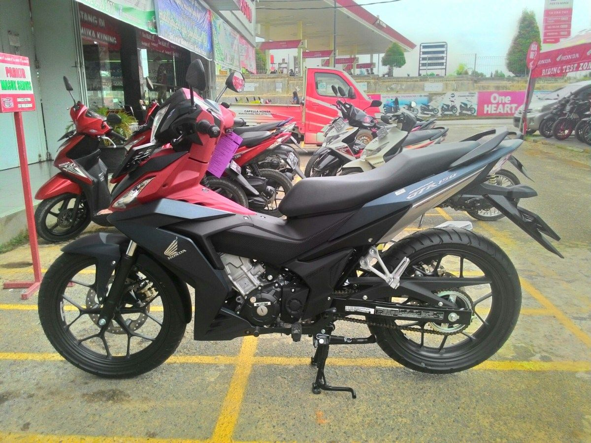First Impression All New Honda Supra GTR150 Harga Simulasi