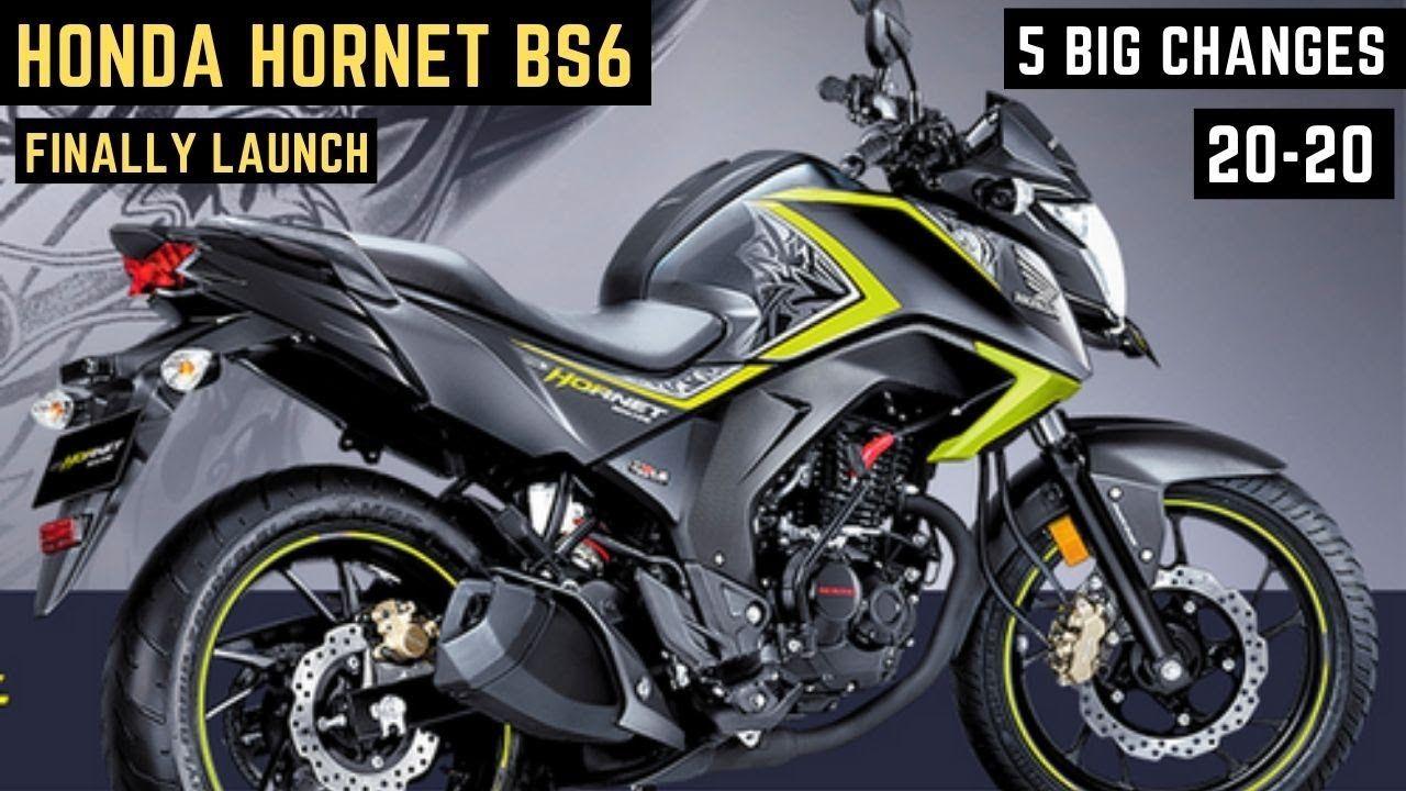 2020 Honda Hornet 160r Bs6 Finally Launch In India 5 New Changes In 2020 Honda Hornet New Motorcycles