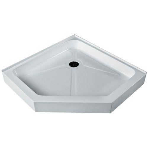 Vigo Vg06069wht38 38 X 38 Neo Angle Shower Tray White Neo