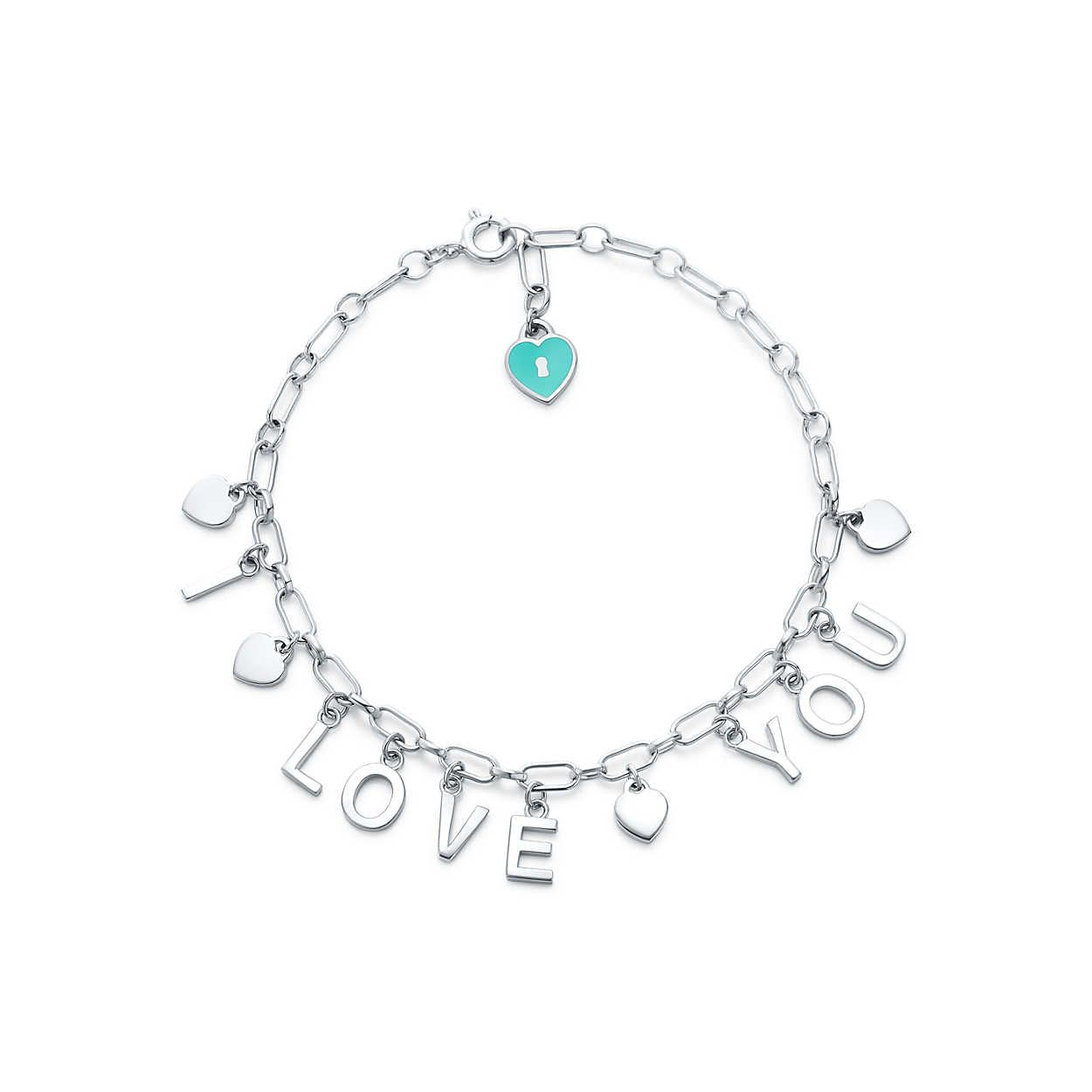68e7036af Tiffany Charms:Love Notes DangleCharm Bracelet | My love for Tiffany ...