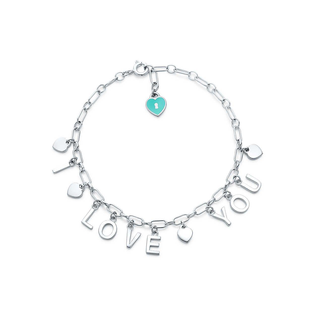 4005c2412 Tiffany Charms:Love Notes DangleCharm Bracelet | My love for Tiffany ...