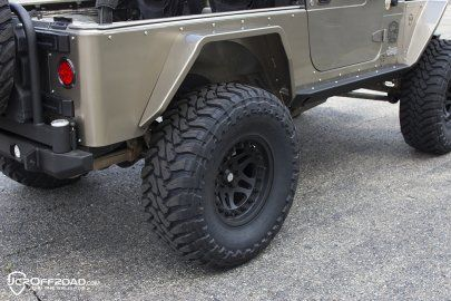 Jeep Tube Fenders Steel Or Aluminum Rear Vanguard Full Width Wrangler Tj Lj Yj 87 06 Jeep Wrangler Fenders Jeep Wrangler Tj Jeep