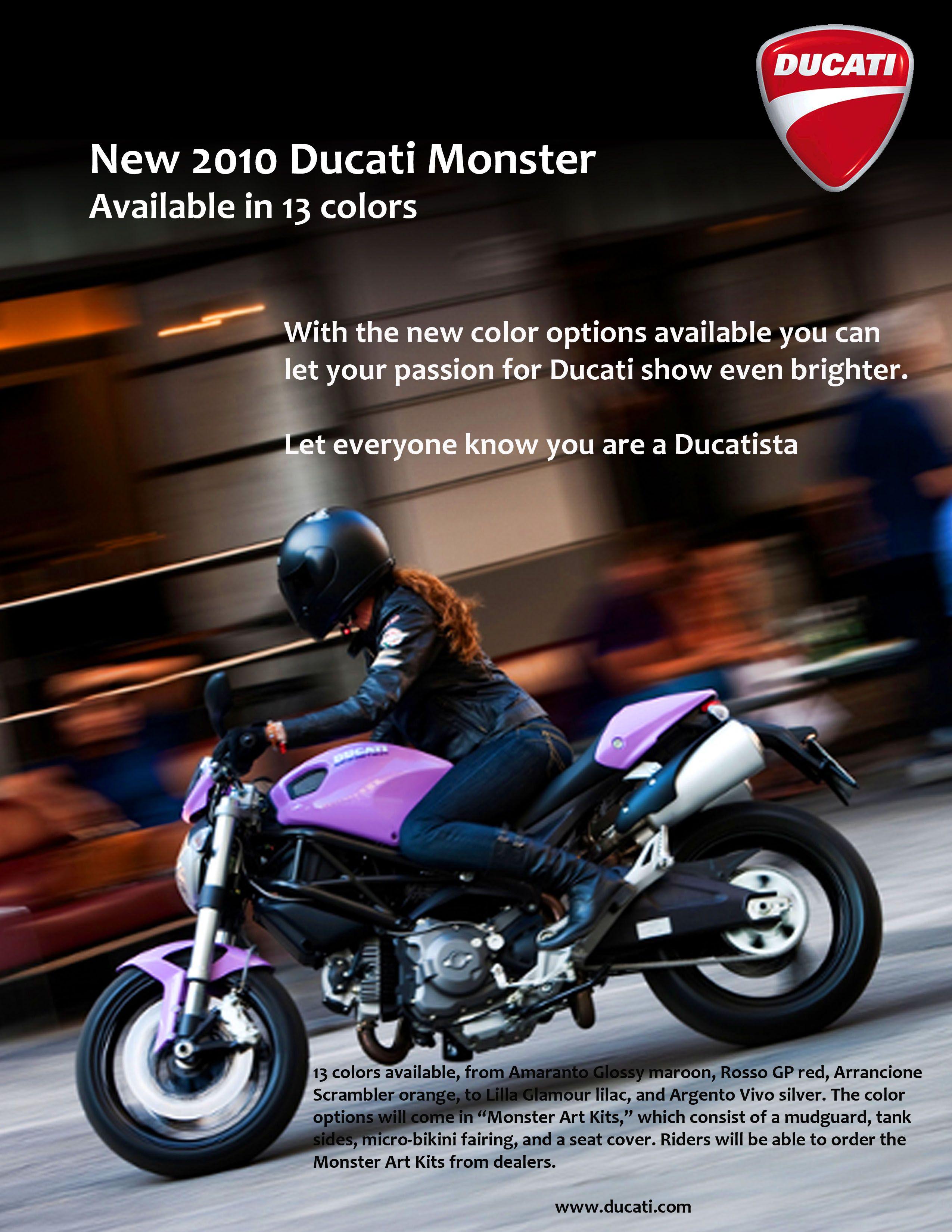 Ducati Print Ads Mit Bildern Motorrad