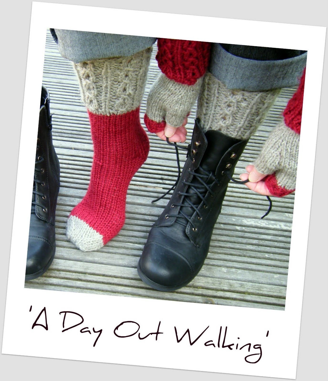 Must knit these boot socks from hand knitted things patterns a must knit these boot socks from hand knitted things patterns a day out walking bankloansurffo Choice Image