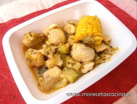 pollo a la naranja con termomix
