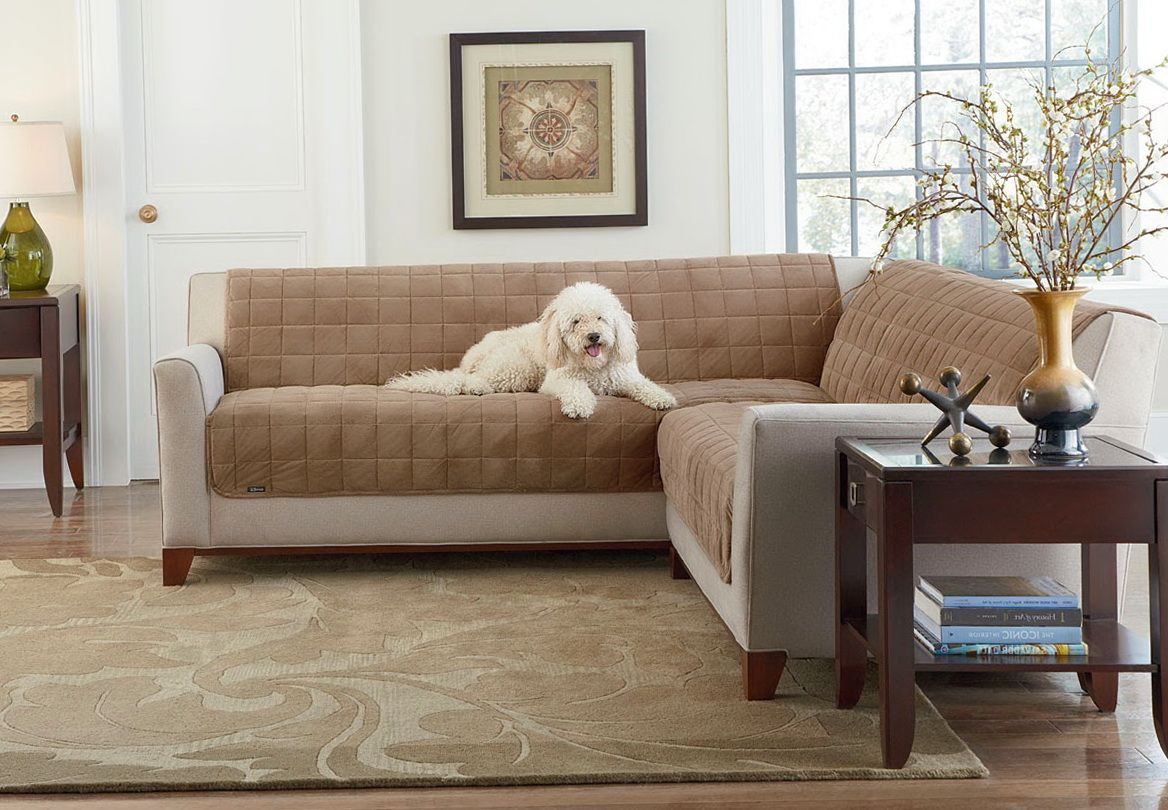 Refurbish With L Shaped Sectional Couch Covers Designalls In 2020 Sectional Couch Cover Sectional Couch Best Sofa Covers