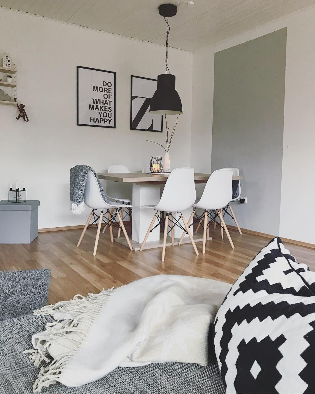 Wohnzimmer Und Esszimmer In Einem Kleinen Raum Ihr: Wie Verleiht Man Einem Raum Schnell Und Einfach