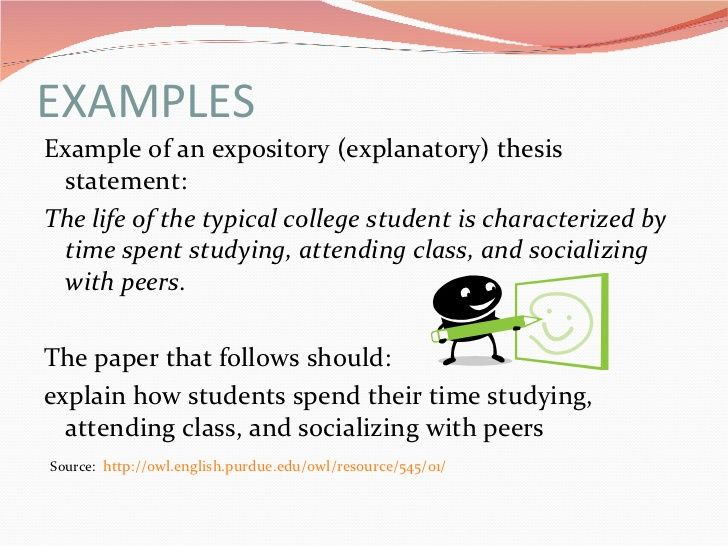 Healthy Living Essay  Thesis Statement Narrative Essay also Science Essay Topic Writing A Thesis Statement For An Expository Essay  The  Narrative Essay Topics For High School